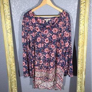 Billabong Floral Boho Dress Medium
